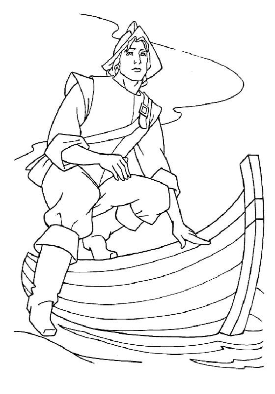 John Smith Want to Meet Pocahontas Coloring Pages