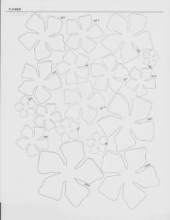 140 best images about DIY Flower Templates on Pinterest