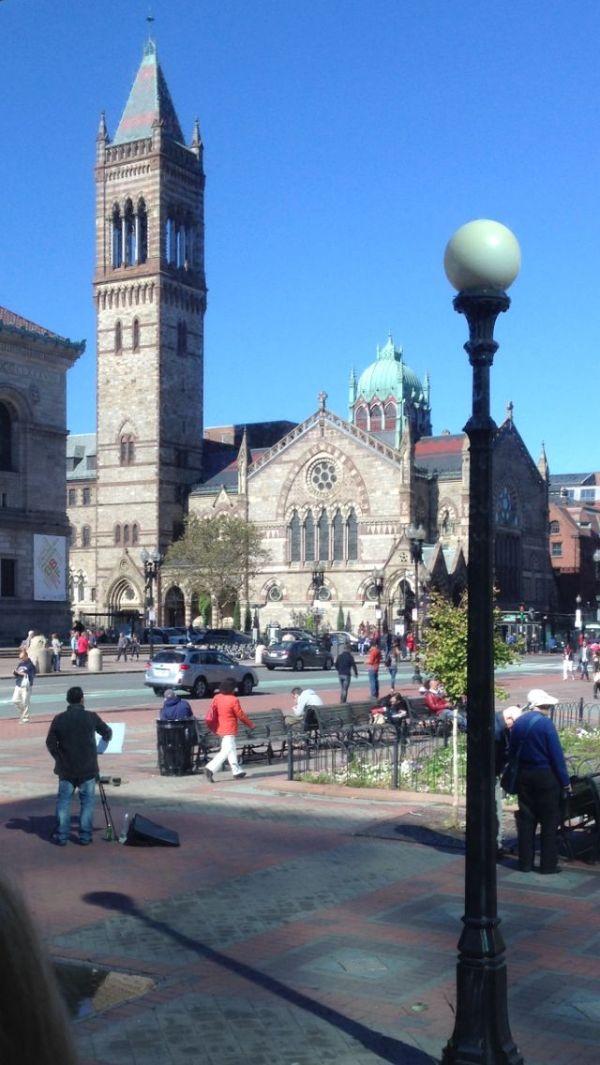 Beautiful church in Boston Amazing trip to New England