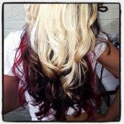 hair styles tricolored