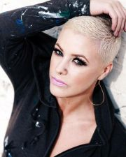 superchic shaved hairstyles
