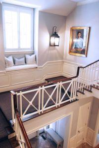 Railing, wainscoting, window seat | home sweet home ...