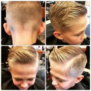 ideas boy hairstyles