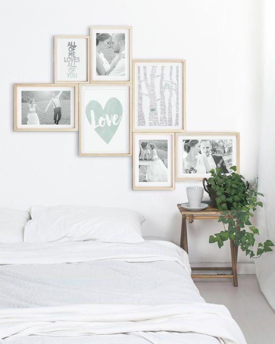 25 beste ideen over Slaapkamer Muur Collage op Pinterest