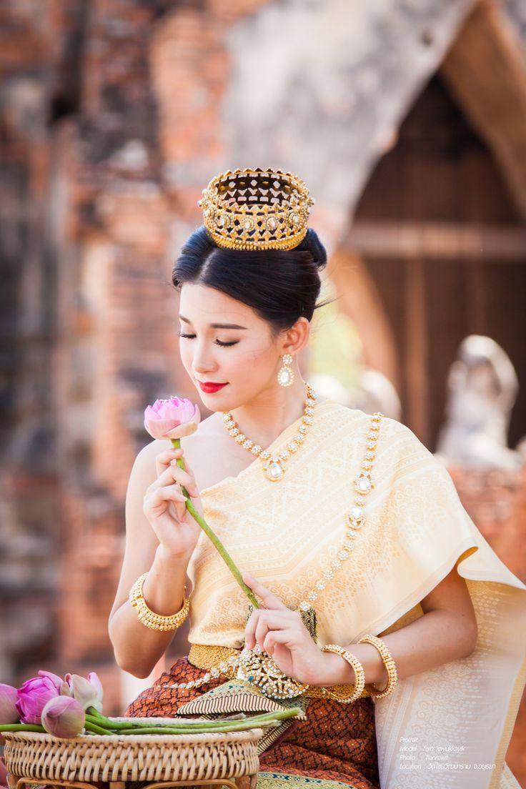 Portrait Thai Dress Pinterest Thailand