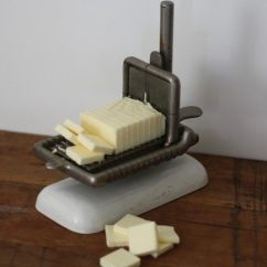 Industrial Faucet Kitchen Utensils Vintage Cheese And Butter Slicer Elgin ...