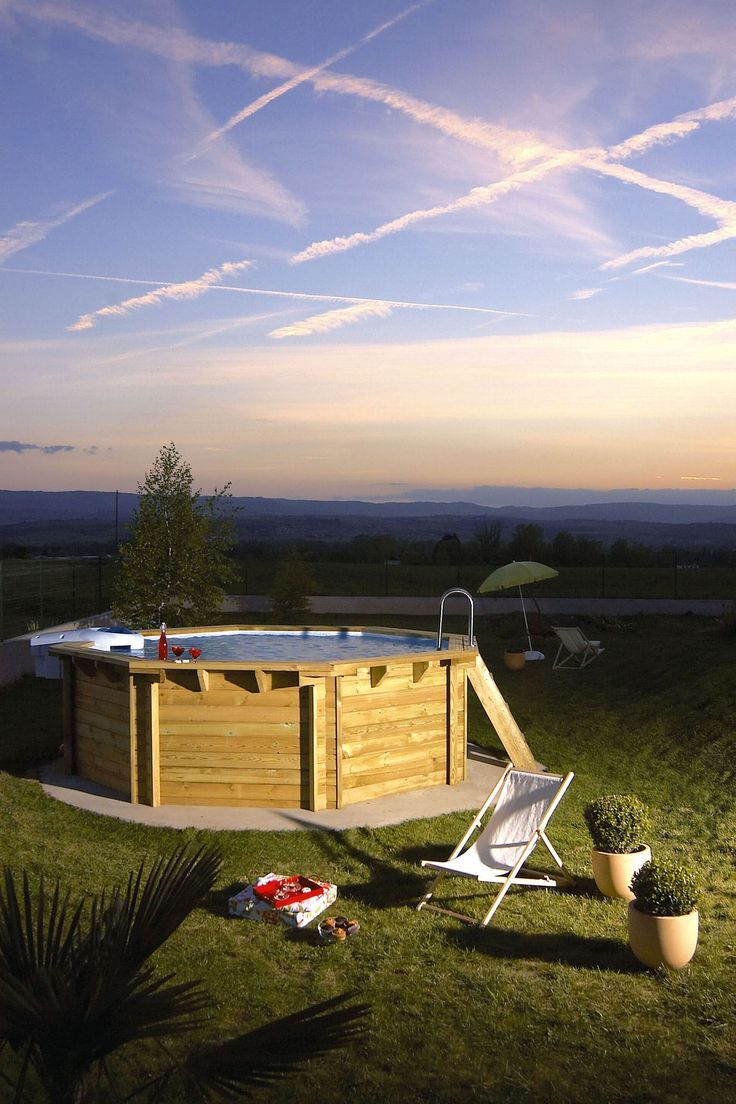 25 best ideas about Piscine hors sol on Pinterest  Beautiful pools Petite piscine and Raised