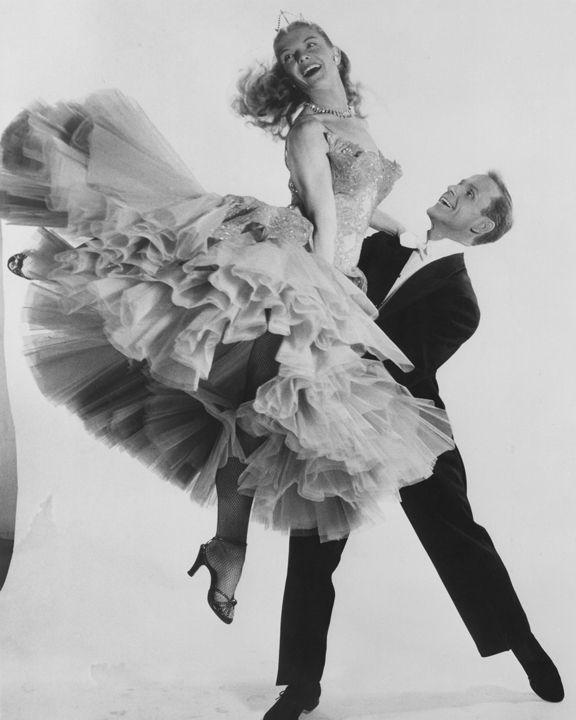 Husband and Wife dance team Bambi Linn and Rod Alexander