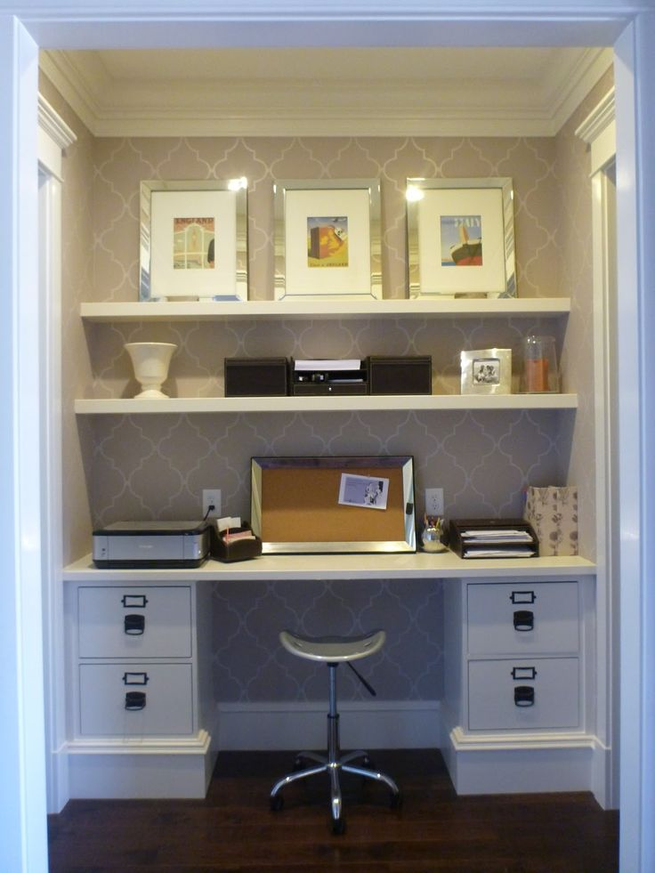 17 Best ideas about Kitchen Office Nook on Pinterest
