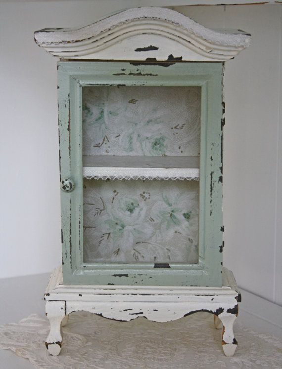 17 Best images about Vintage curio cabinets on Pinterest