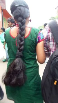173 best Indian Long Hair Braid 2 images on Pinterest