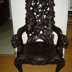 Baby Throne Chair Buy Blue Bay Rum Online Chinese Carved | Antique Dragon/monkey - Justanswer ...