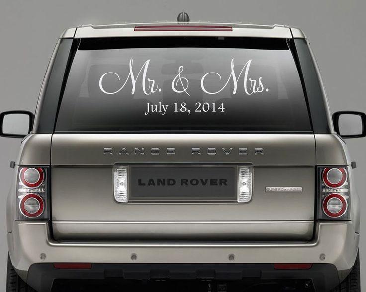 Die 25 besten Ideen zu Just married auto auf Pinterest