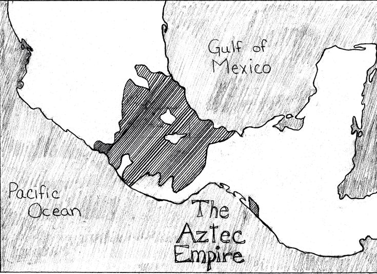 The Aztec Empire dominated large parts of Mesoamerica from
