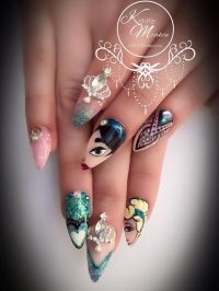 Best 25+ Princess Nail Designs ideas on Pinterest