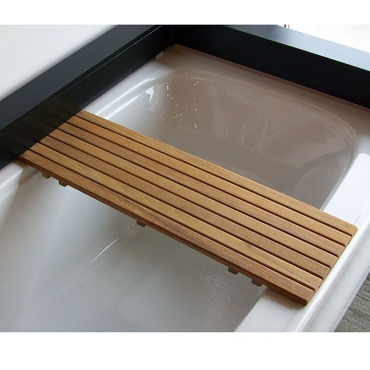 Bathtub ShelfSeat In Burmese Or Plantation Teak