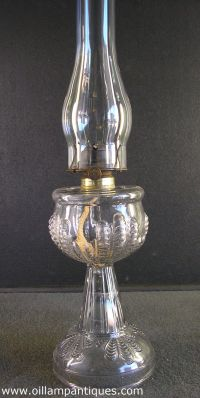 1000+ images about Antique Glass Oil Lamps on Pinterest ...