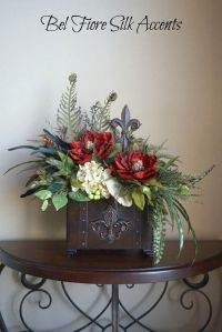 25+ best ideas about Silk flower arrangements on Pinterest