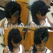 curly mohawk beautiful hairstyles