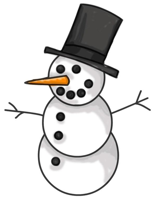 1000 snowman