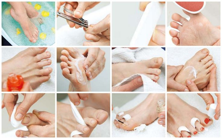 Diy pedicure click for stepbystep instructions