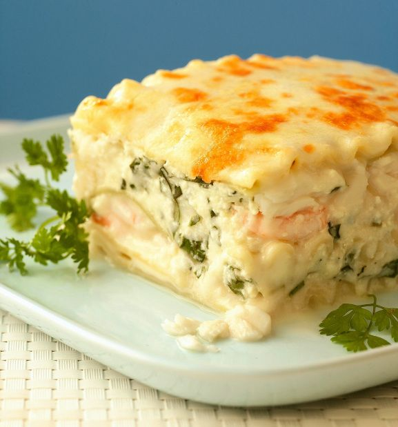 Sensational Seafood Lasagna from Everyone Can Cook Seafood by Eric