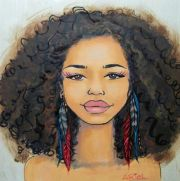 2996 black afro
