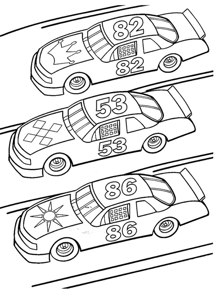 race car coloring pages and book uniquecoloringpages 725 X