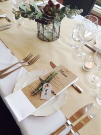 64 best images about Table Settings on Pinterest | Runners ...
