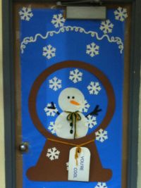 Office Door: Winter Office Door Decorations