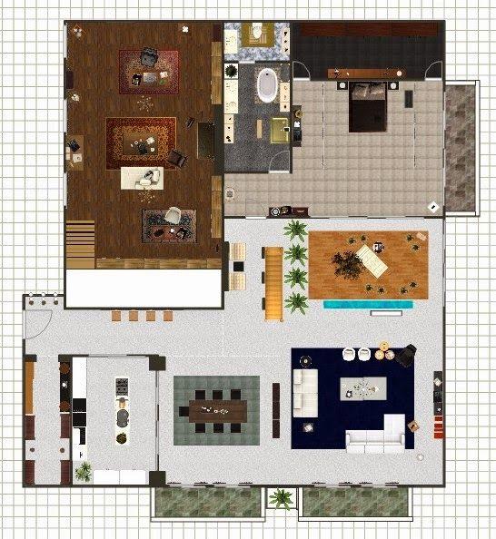 Do Min Joon apartment floor plan  Man From The Stars  Architecture  Pinterest  Apartment