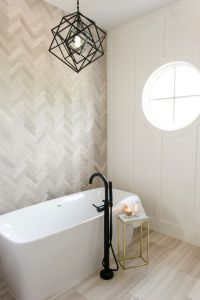 17 Best ideas about Bathroom Accent Wall on Pinterest
