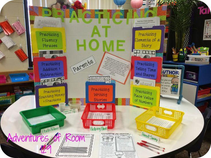 High school open house ideas for Preschool open house ideas