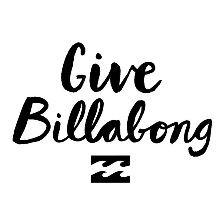 #giveBillabong Want to get gifted? Find out more by