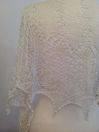1000+ ideas about Crescent Shawl on Pinterest | Knitted ...
