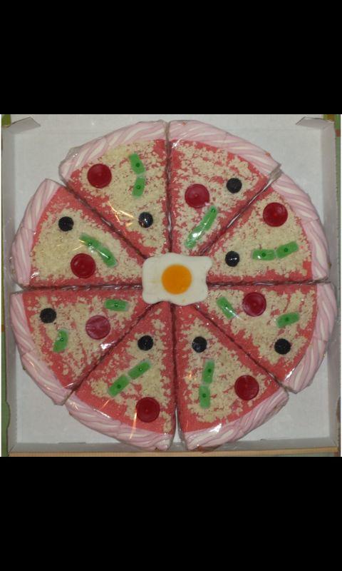 Tarta De Gominolas Con Forma De Pizza Chuches