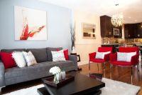 Interior, Impressive Modern Living Room Designs With Gray ...