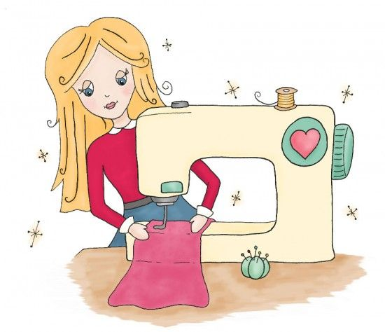 Clip Art Sewing Small Machine