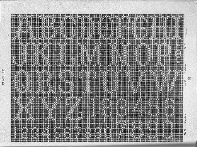Filet Crochet For Beginners Filet Crochet Charts Diagrams Pintere