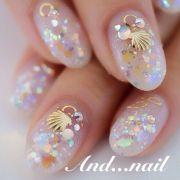 ideas opal nails