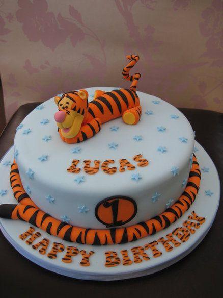 Tigger Birthday Cake Cake By Deborah Cubbon The4manxies