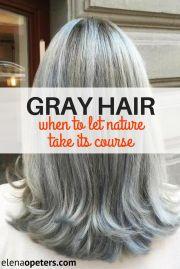 ideas gray hair