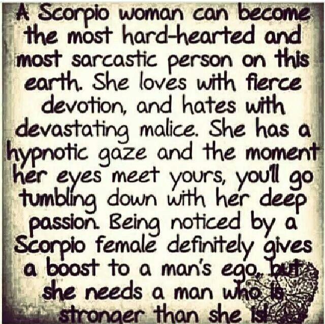Loving Scorpio Woman
