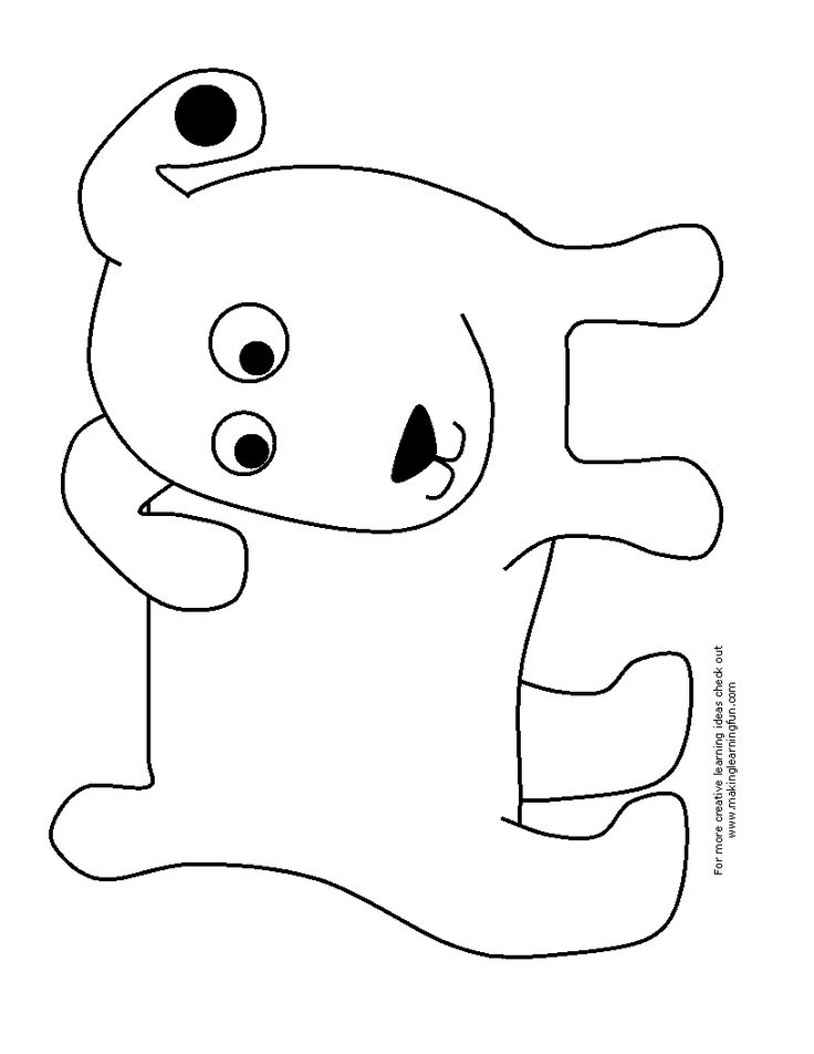 17 Best images about Alphabet coloring pages on Pinterest