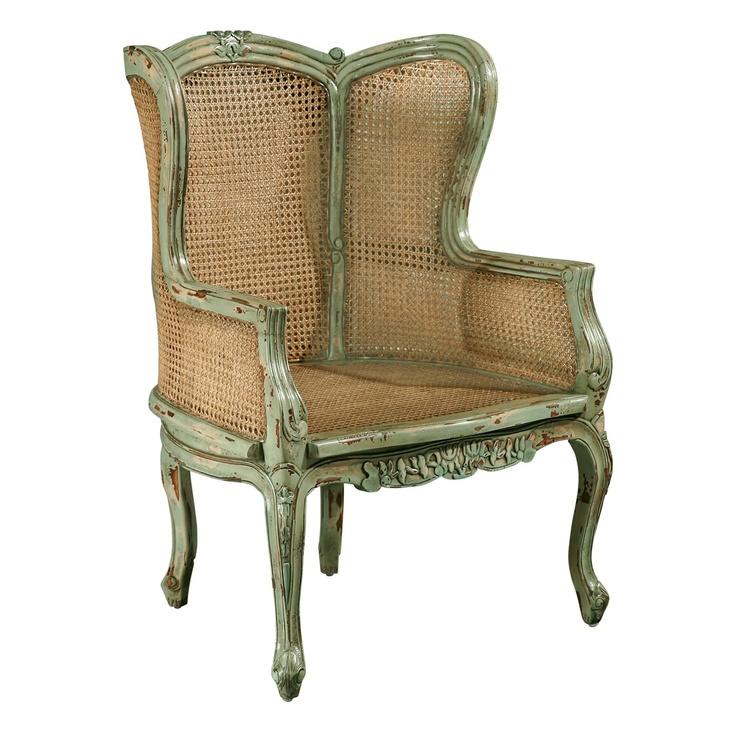 Furniture Classics 1330 Louis XV Bergere Chair  Chairs