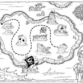 17 Best ideas about Pirate Treasure Maps on Pinterest