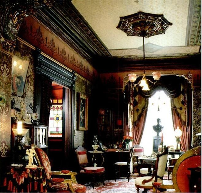 How to do the Victorian Parlour  Old House Interiors  Google Books  Victorian Decorating  Pinterest  Parlour Sherlock and The movie
