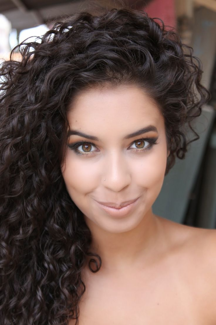 25 Best Ideas about Dark Curly Hair on Pinterest  Short curly hairstyles Blonde curly hair