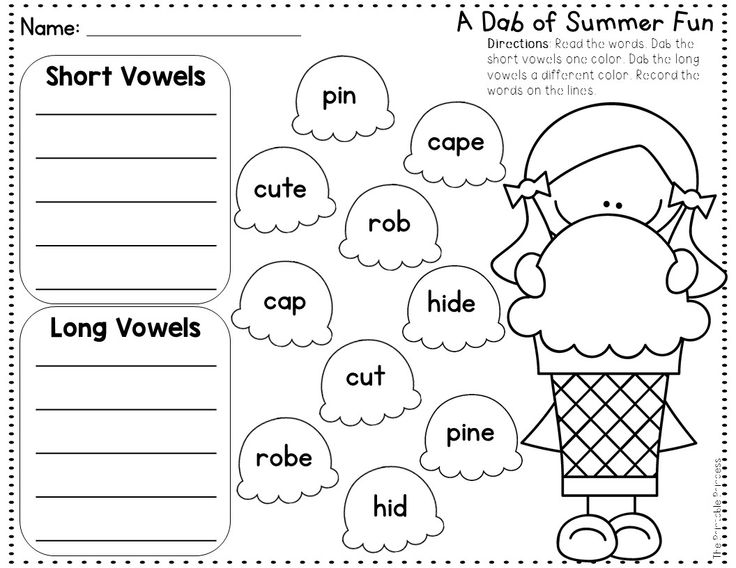 Summer Activities NO PREP Pages {Literacy and Math