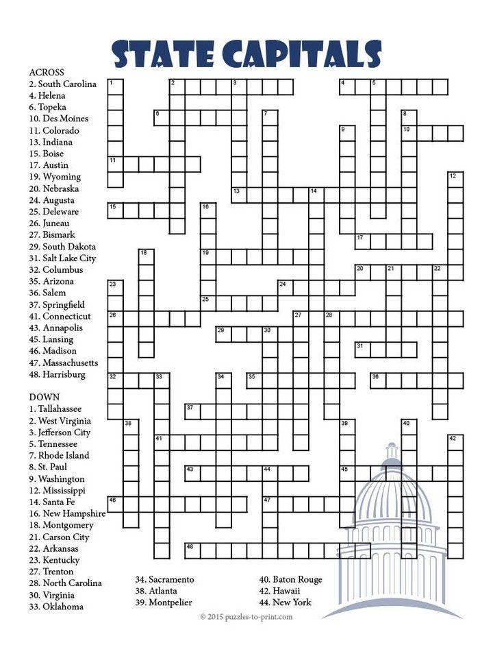 The 25+ best Crossword puzzles ideas on Pinterest